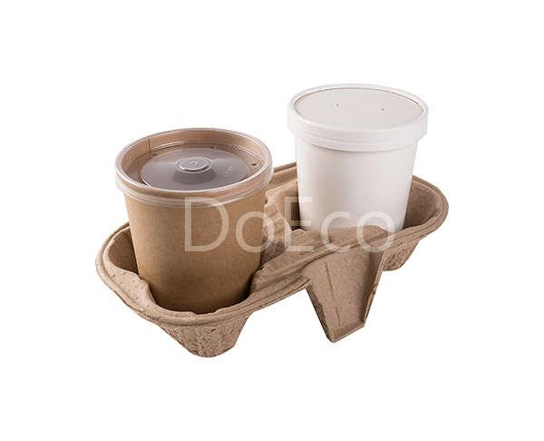 00025 - BOX ECO CUP HOLDER 2 P/KRAFT X150PZ