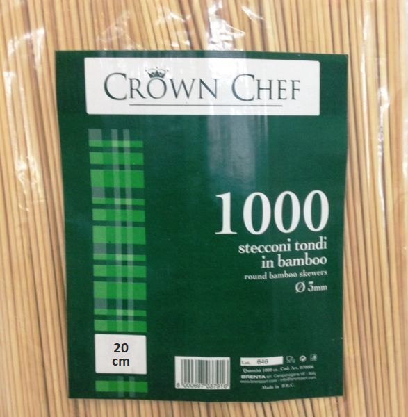 STECCONI BAMBOO CROWN CM.20/3 CF1000