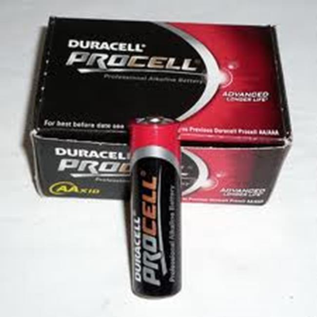 DURACELL PROCELL AA STILO X 1,5V X10