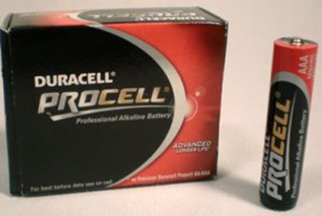 DURACELL PROCELL AAA MINIS.X1,5V X10