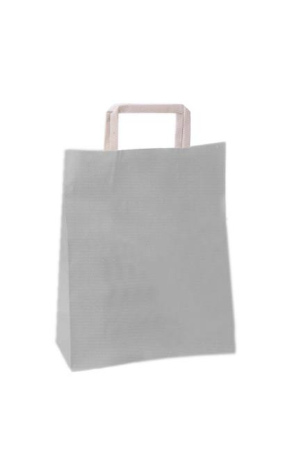 SHOPPER CARTA BIANCO 24+10X32 S/S