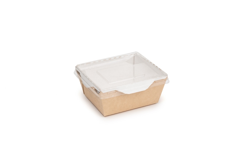 BOX ECO OPSALAD  400 C/COP. PK X50PZ