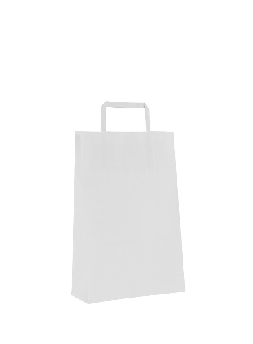 SHOPPER CARTA BIANCO 26+18X26 S/S