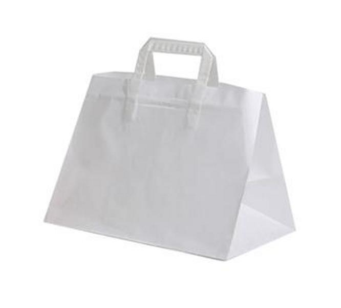 SHOPPER CARTA BIANCO 36+24X30 S/S