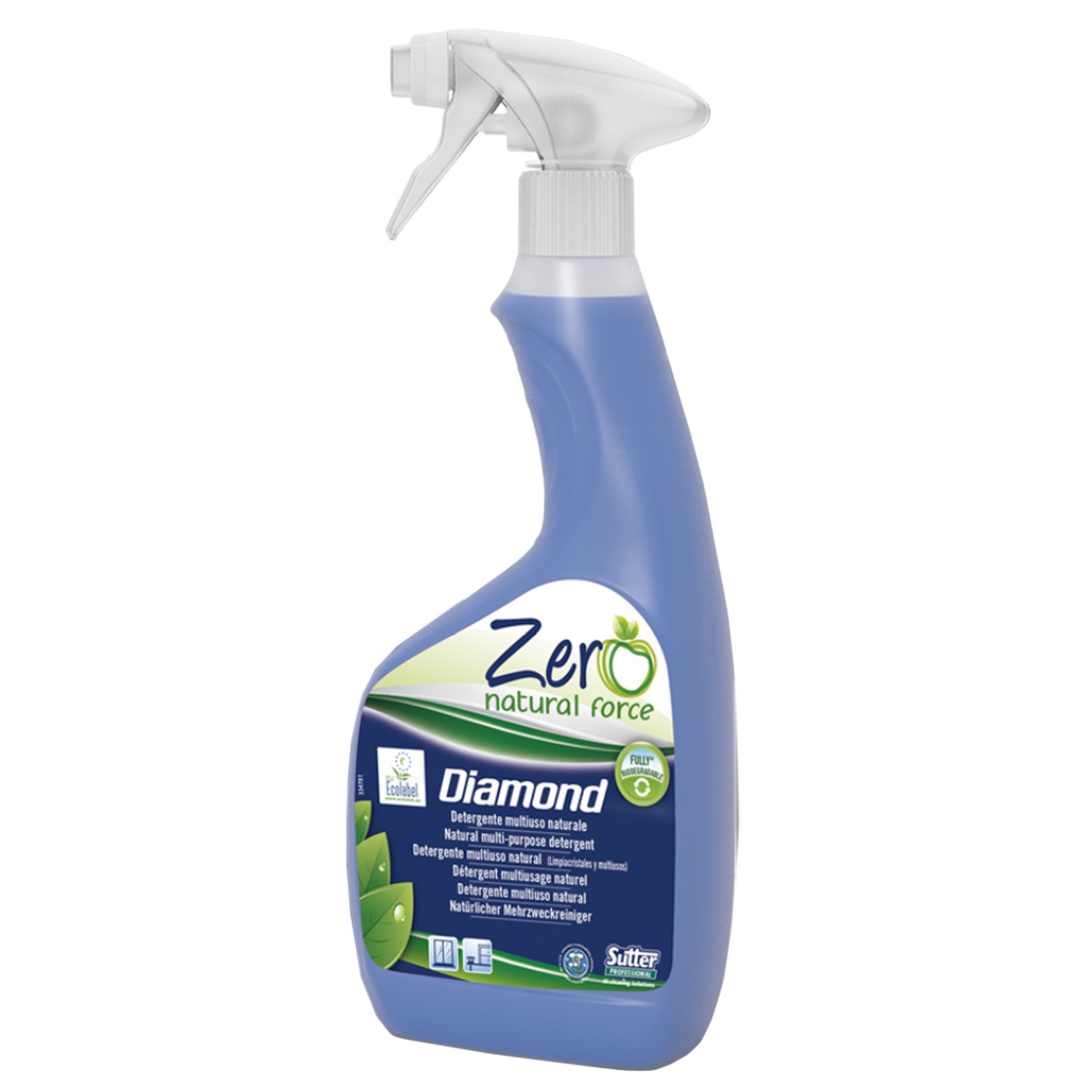 SUTTER DETERGENTE NATURALE ZERO DIAMOND 500 ML