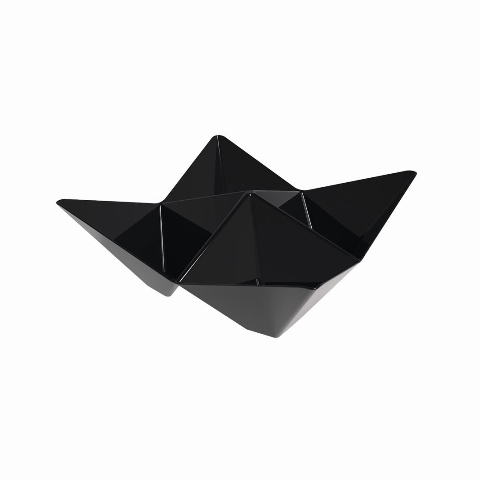 COPPETTA PS ORIGAMI NER.103X103MMX25