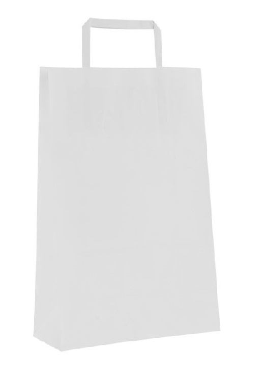 SHOPPER CARTA BIANCO 40+12X42 S/S