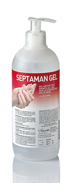 DISINFETTANTE GEL SEPTAMAN 500ML